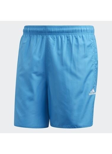 adidas Erkek Solid Clx Sh Sl Şort FJ3381 Mavi